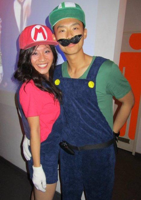 Diy Mario And Luigi Costumes For Girls