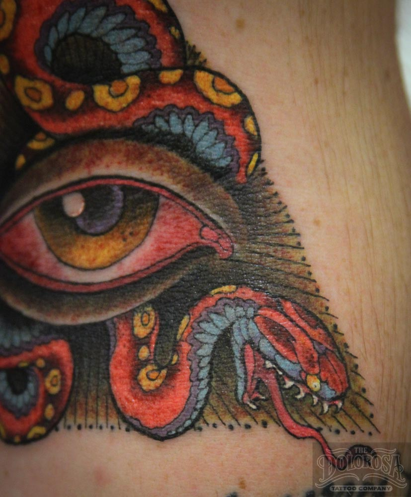 Illuminati Eye Tattoo