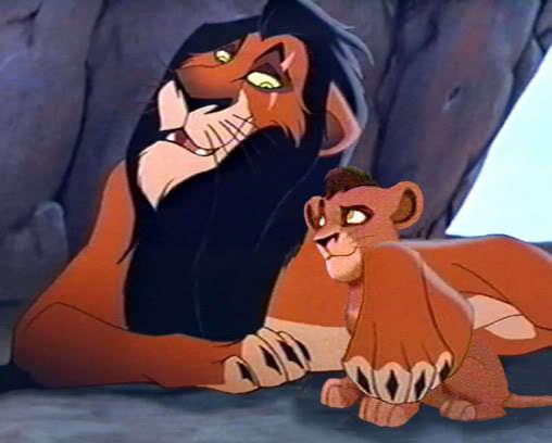 the lion king 2 kovu scar