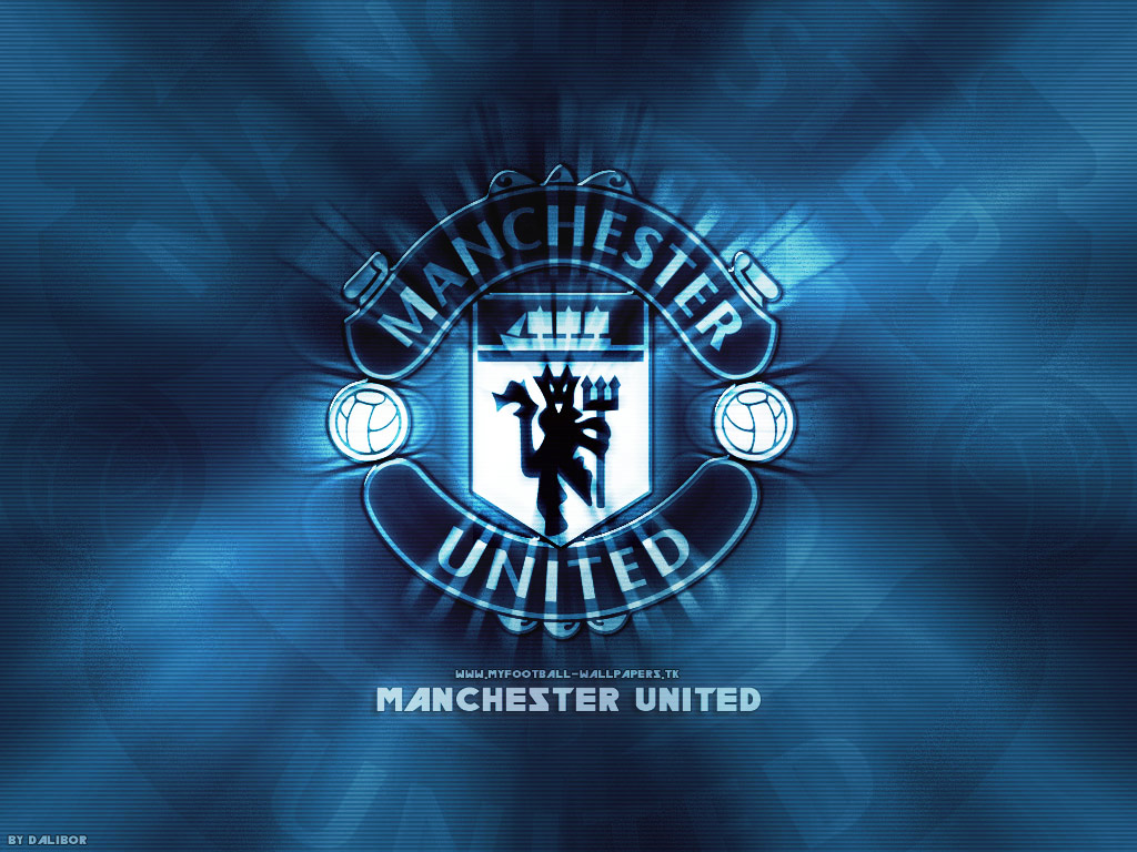 Manchester United Logo Wallpaper 2010