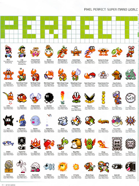 Mario Bros Characters Names Pictures